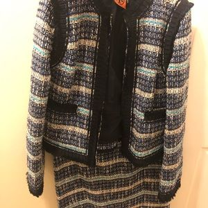 Tory Burch Jacket and Skirt Sizes 4&2